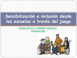 Sensibilización e inclusión desde las escuelas
