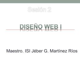 DISEÑO WEB i - Mente Interactiva