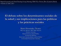 Imagen de los determinantes sociales
