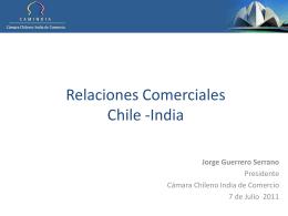 Relaciones comerciales Chile India