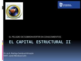 El capital estructural II