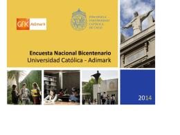 Encuesta Bicentenario 2014_metodología_Educación
