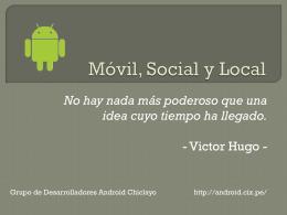 descargar el PPT - Android Chiclayo