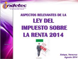 isr xalapa 2014