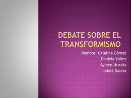 Debate sobre el transformismo 160KB Mar 17 2015 03:24:25 PM