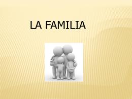 La familia Derecho Civil II