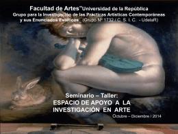 ESPACIO DE APOYO A LA INVESTIGACIÓN EN ARTE