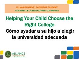 Academia de Liderazgo Para los Padres