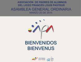 Asamblea marzo 2015
