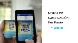 MOTOR DE GAMIFICACIÓN - Para Danone