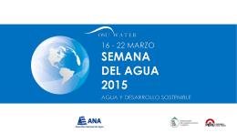 semana del agua 2015