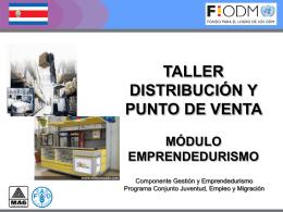 Distribución, PPTT - Territorios Centroamericanos