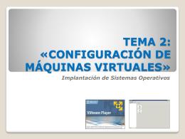 tema 1: «caracterización de sistemas operativos