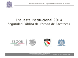 perfil del personal policial - Portal de Gobierno de Zacatecas