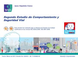Diapositiva 1 - Fondo de Prevención Vial