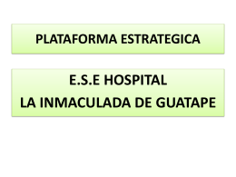 Informe a Alianza de Usuarios Junio 4 de 2015 2º Sem. 2014