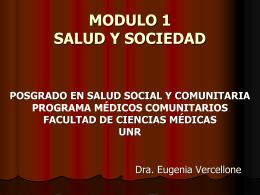 Módulo 1 - Salud Colectiva