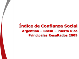 ICS 2009 Indicadores
