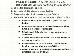 libertad de religión en Bolivia