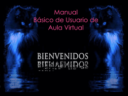 Manual Básico de Usuario - Aula Virtual Centro Educativo Lepanto