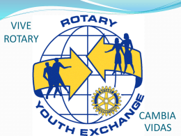 VIVE ROTARY - Distrito 4930