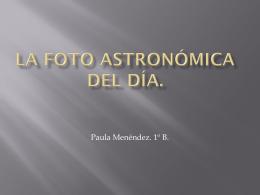 La Foto Astronómica del Día.