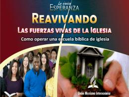 Capitulo V - Como Operar Una Escuela Biblbica De Iglesia UI