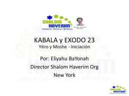Yetziráh - Shalom Haverim Org