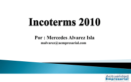 Leccion_1_-_Incoterms_2010 - Revista Actualidad Empresarial