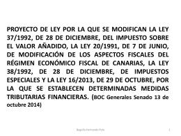 diferir el ingreso del IVA - Consejo General de Colegios de