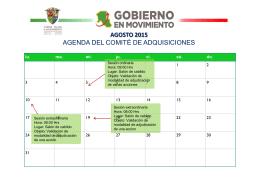 Comite de Adquisiciones - H. Ayuntamiento de Cd. Valles, SLP
