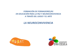 NEUROCIENCIA 4TO CURSO FORMATIVO