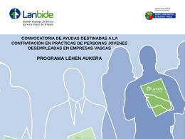 Centros Colaboradores de Lanbide