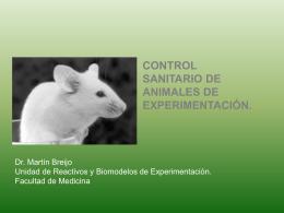 Control microbiológico 2013 - URBE