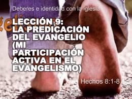01-dic-2013 la predicación del evangelio