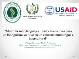 Multiplicando lenguajes: Prácticas efectivas para un bilingüismo