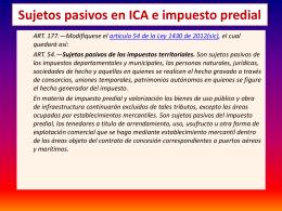 7) ICA en la L. 1607 - Cámara de Comercio de Buga