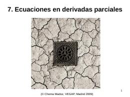 Introducción a la ecuaciones en derivadas parciales