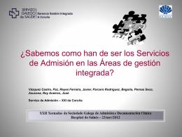 Diapositiva 1 - SOGADOC Sociedade Galega de Admisión e