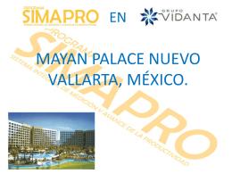 SIMAPRO EN MAYAN PALACE NUEVO VALLARTA, MÉXICO.