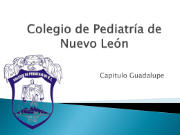 Colegio de Pediatría de Nuevo León
