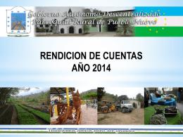 Presentacion Rendicion de Cuentas gad pueblo nuevo