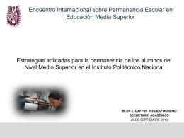 El Modelo educativo institucional del IPN