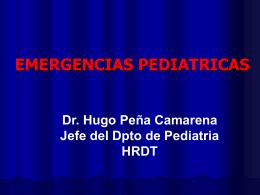 Emergencias Pediátricas Curso CMP