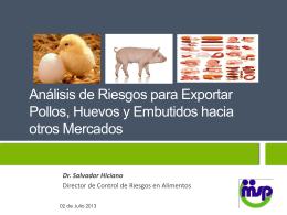 SALUD PUBLICA Analisis de Riesgos para Exportar - CEI-RD