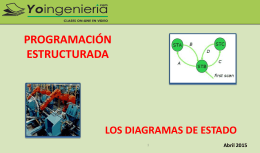 Diagramas de Estado – Abril 2015