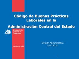 Codigo de buenas practicas - Documentos Sector Vivienda