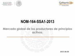 1.- Francisco Garcia NOM-164-SSA1