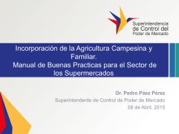 Presentación Pedro Paez – 08-04-2015