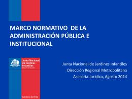 Presentación sobre Probidad Administrativa - Agosto 2014